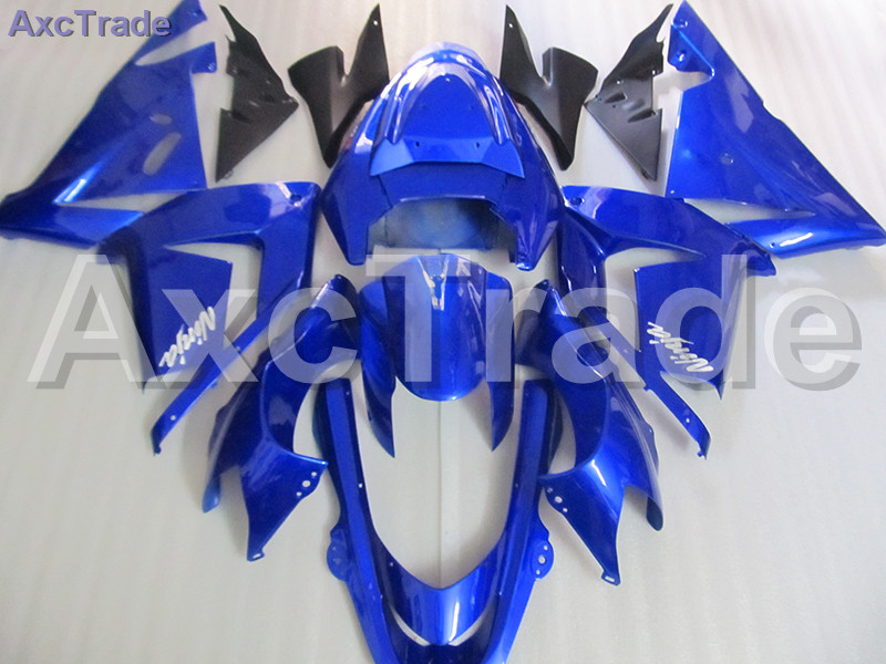 High Quality ABS Plastic For Kawasaki Ninja ZX10R ZX-10R 2004 2005 04 05 Moto Custom Made Motorcycle Fairing Kit Bodywork Blue