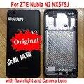 Чехол для телефона ZTE Nubia N2 NX575J  100% оригинал  лучшая задняя крышка аккумулятора  задняя крышка  корпус  светильник-вспышка + стеклянная линза д...