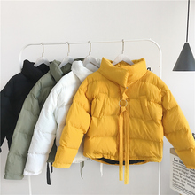 5XL Winter Fashion Women /Men Jackets Short Design Cute Cotton Padded Couple Coats Causual Warm Hoodies Padded Parkas Casaco Fem