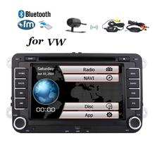 Car audio Stereo For Volkswagen Jetta Passat Head Unit GPS Navigation Stereo DVD Player Radio Wireless Backup Camera Included