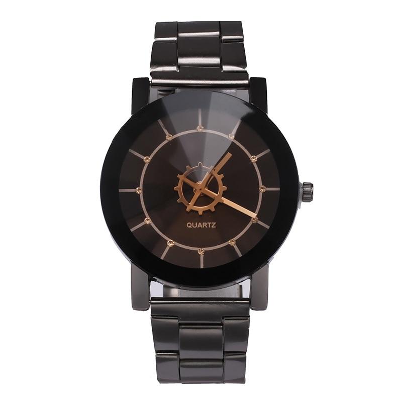 Original Brand Famous WristWatch Black Classic A Pair Couple Watch Women Men Fashion Clock Relogio Masculino Feminino Watches