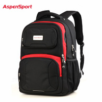 Aspensport Waterproof Laptop Backpack Super Big Capacity Nylon 17 Inch Men Women Computer Bag Unique Quality