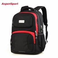 Aspensport Waterproof Laptop Backpack Super Big Capacity Nylon 17 Inch Men Women Computer Bag Unique Quality