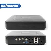 HD Mini 4ch Full D1 Dvr Real Time Recording 4ch AHD 4CH 1080P Hybrid Dvr NVR