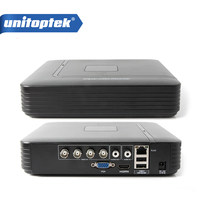 HD Mini 4ch Full D1 Dvr Real Time Recording 4ch AHD 4CH 1080P Hybrid Dvr NVR