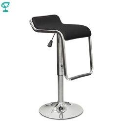 94430 Barneo N-41 эко-кожа кухонный барный стул с мягким сиденьем на газ-лифте цвет черный мебель для кухни кресло для броу бара бесплатная доставка...