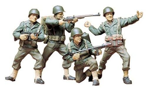Собрать Солдат модель 35013 1/35 Второй мировой войны армии США Пехота модель комплект
