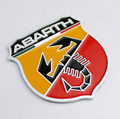Metal 3D ABARTH Fender Rear Tail Emblem Badge Decal Sticker for FIAT 500 Punto Stilo 124 125 695 OT2000