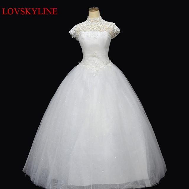 Diamond lace racerback bandage princess bride dress slit neckline ...