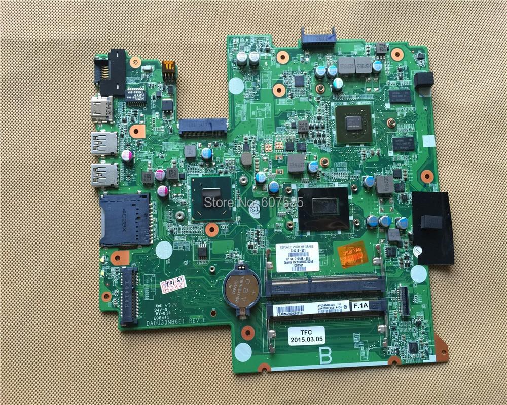 For HP Pav TS 14 b Series Sleekbook 721215 501 Laptop font b Motherboard b font