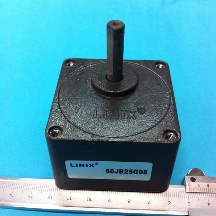 LINIX Gear reducer motor 60JB25G08 Deceleration new original boston gear fwa713 900 b5 g transmission speed reducer fwa713 900 b5 g
