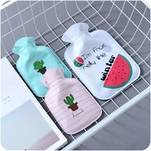 Free Shipping Water Injection Type Hot Water Bag Thick Cartoon Rubber Safety Explosion-proof Hot Water Bag