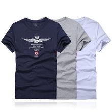 2017 New arrival aeronautica militare men T shirt male casua