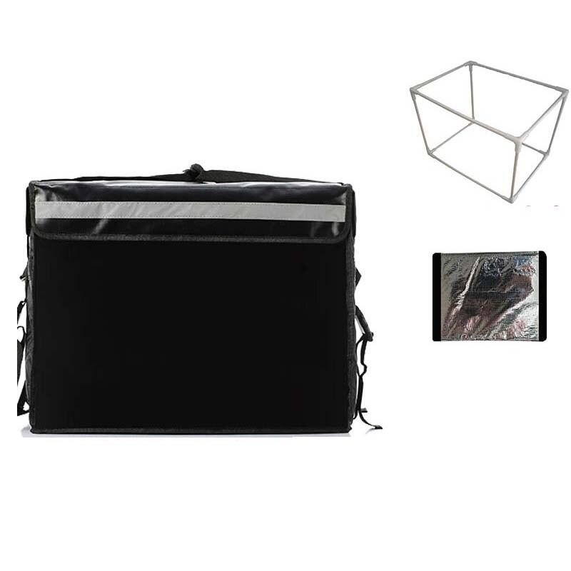 Bagaj ve Çantalar'ten Soğutucu Çantalar'de 30L 43L 62L büyük soğutucu çanta ile braketi kalınlaşma termal öğle piknik kutusu buz paketi yemek İçecekler araç yalıtım serin çanta'da  Grup 1