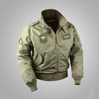 USAF Bomber CWU 45/P Flight Jacket Vintage Men's Military WW2 Lightweight Uniform