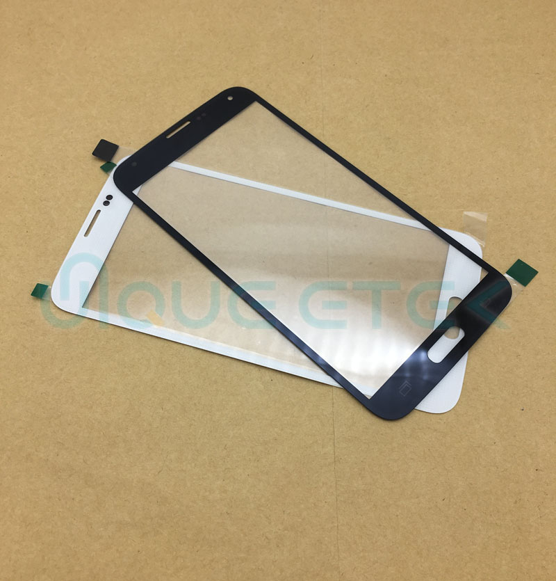 High Quality Touch Panel Screen For <font><b>Samsung</b></font> <font><b>Galaxy</b></font> <font><b>S5</b></font> I9600 G900 G900F G900H G900I Front Outer <font><b>Glass</b></font> <font><b>Replacement</b></font> No LCD image