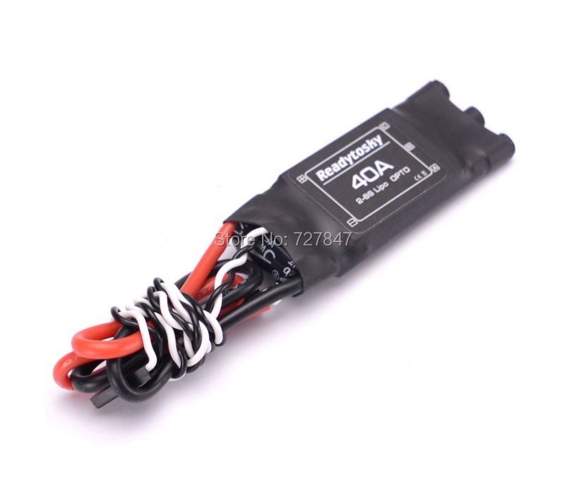 High Performance ReadytoSky 40A OPTO Brushless ESC similar quality as Hobbywing XRotor 40A leonard  yates high performance options