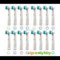 Grande Venda!!! 20 Peças (5 pacotes) escova de Dentes Elétrica Cabeça Replacements Para Braun Oral B FLOSS AÇÃO NOVA 2014-180777-U8