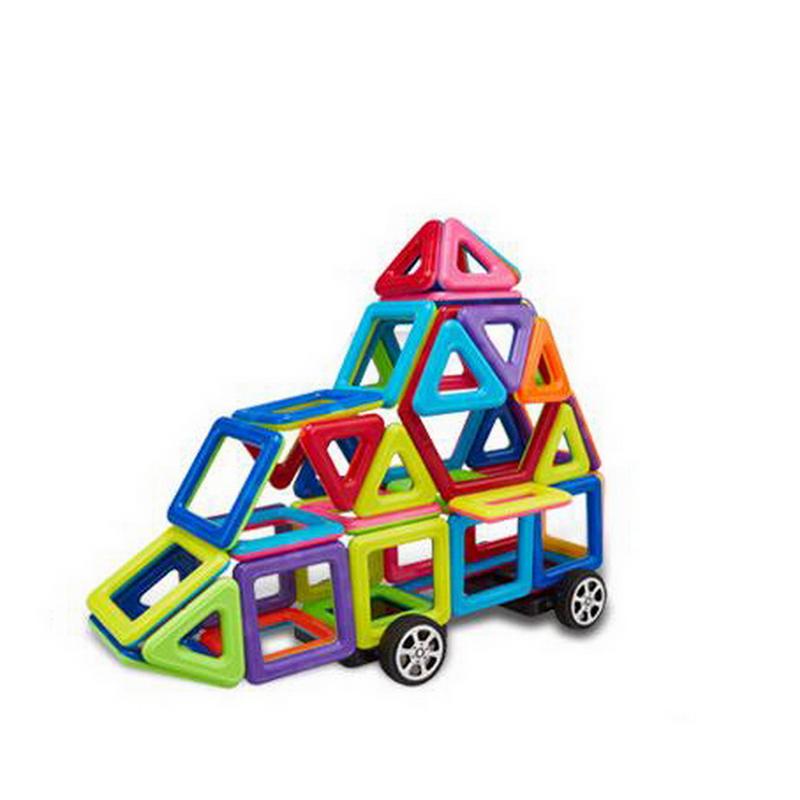 unidsset construccin juguetes kits de construccin de modelo de diseo magntico bloques de