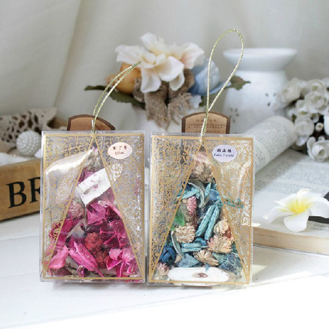 1 Bag Incense Bags Lavender Sachet Natural Aromatic For Living Room Drawer Car Office Smell