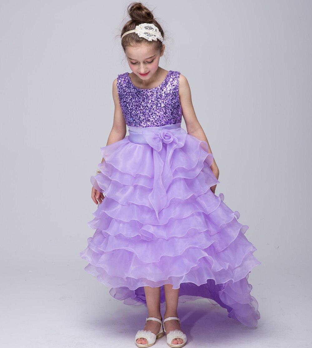 2018 new flower girl dresses children Wedding Dresses six one ...