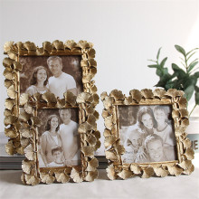 Creative Home Picture Frame Resin Painted Photo Frames Hight Quality Europe Style For Decoration 6 Sizes