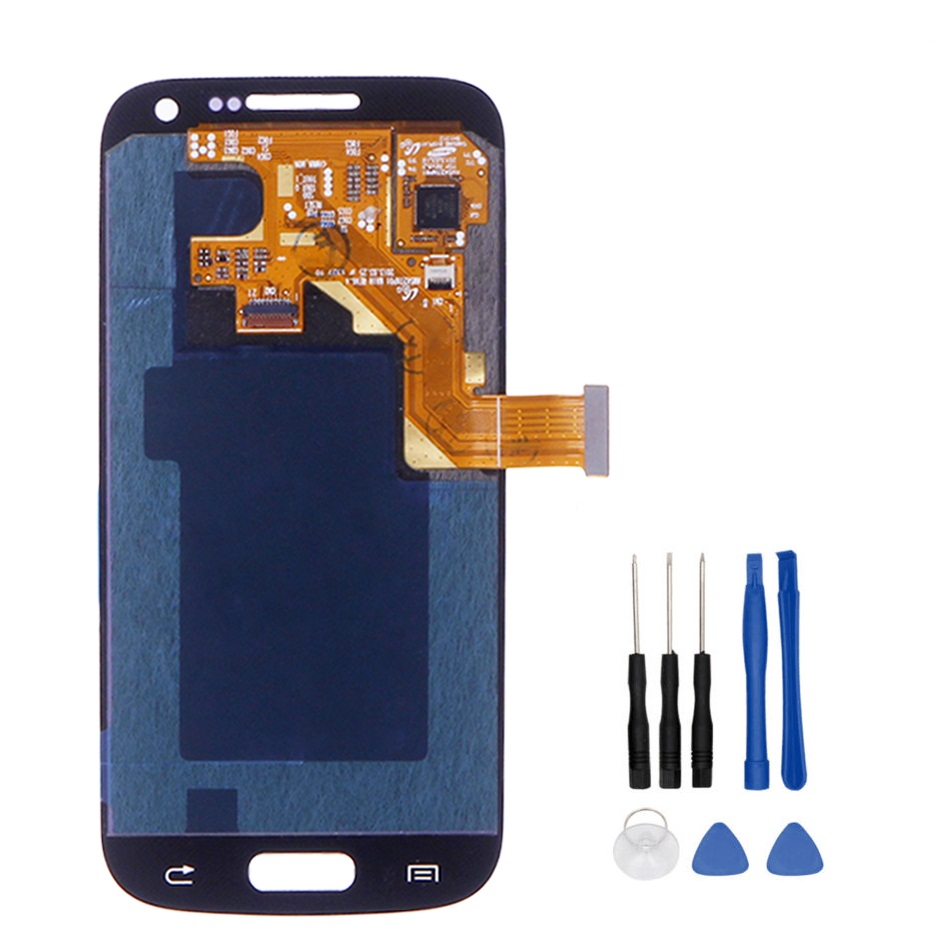 100% Work Well LCD For Samsung Galaxy S4 Mini i9190 i9192 i9195 Display + Touch Screen Assembly Repair Parts+Tools