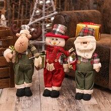 Adornos Navidad рождественские украшения для дома рождественские украшения куклы Рождественская елка орнамент Симпатичные рождественские подарки, игрушка