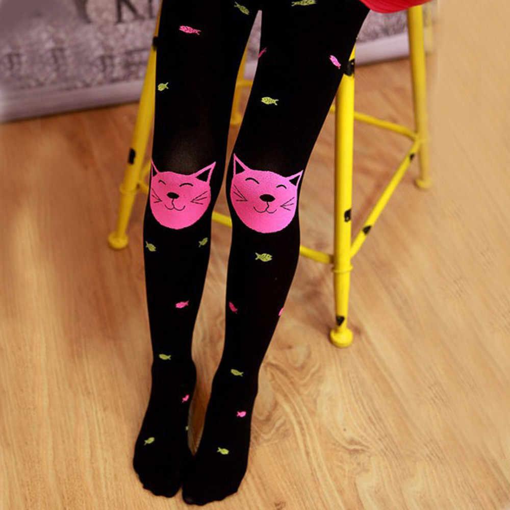 جوارب طويلة للأطفال الخريف البنات الجوارب الملتحي فتاة الموضة محبوك جوارب طويلة الطفل بانتيس دي bebe1.846