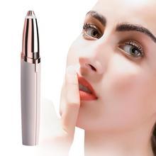Mini Electric Brows Hair Remover Lipstick Repairing Eyebrow  Trimmer Makeup Facial for Women
