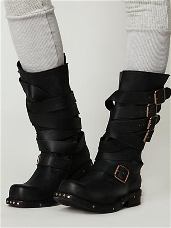 mid calf combat boots women | Gommap Blog