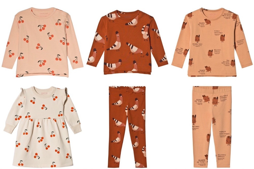 2018 AUTUMN WINTER KIDS PAJAMA SETS TINY COTTONS CLOTHING SETS CHERRY BOYS CLOTHING GIRLS CLOTHING CHRISTMAS VESTIDOS VETEMENT