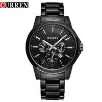 HOT2016 CURREN Watches Men Quartz Top Brand Luxury Military Male Watches Men Sports Army Watch Waterproof