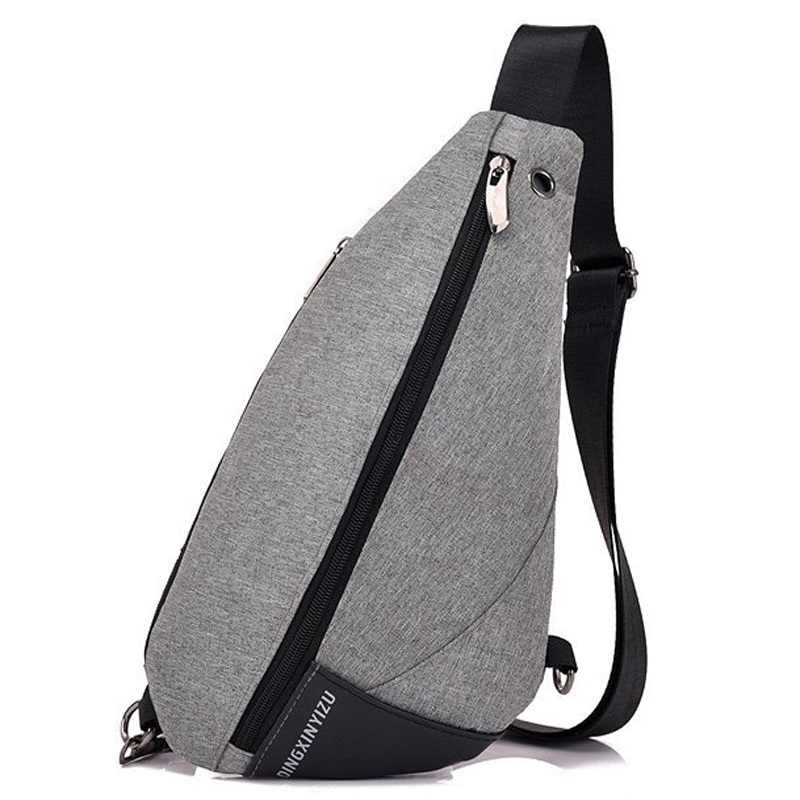 Urban Backpack Leisure Chest Pack Bags Men Women Small Size Shoulder Unisex  Rucksack Triangle One Strap c31347f5f77e3