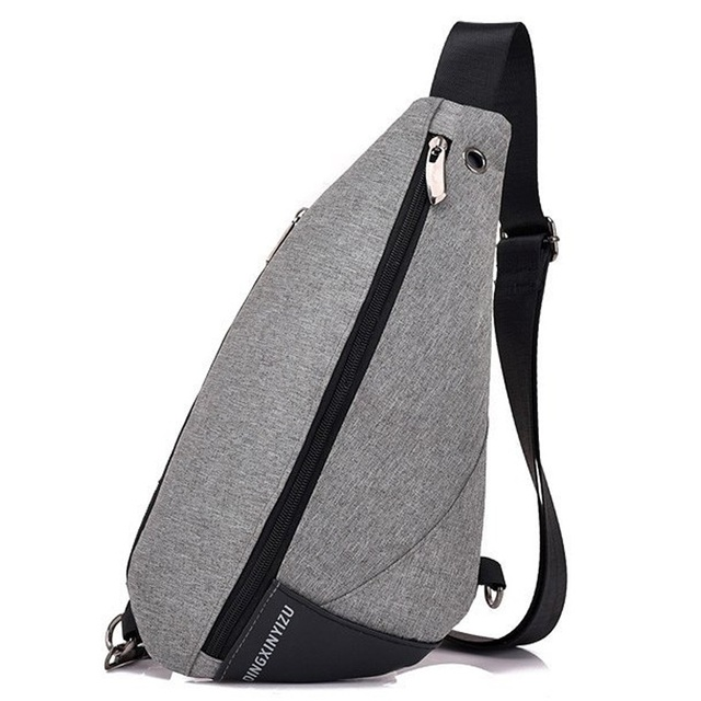 Urban Backpack Leisure Chest Pack Bags Men Women Small Size Shoulder Unisex  Rucksack Triangle One Strap 55c6c8affd
