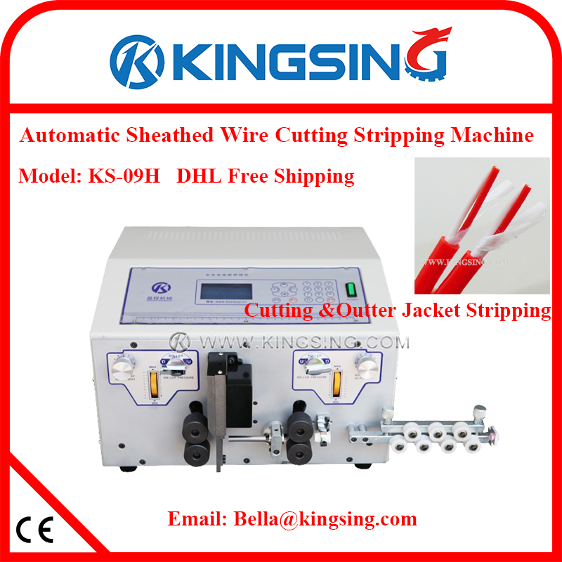 Automatic Battery & Power Cable Cutting Stripping Machine ... on