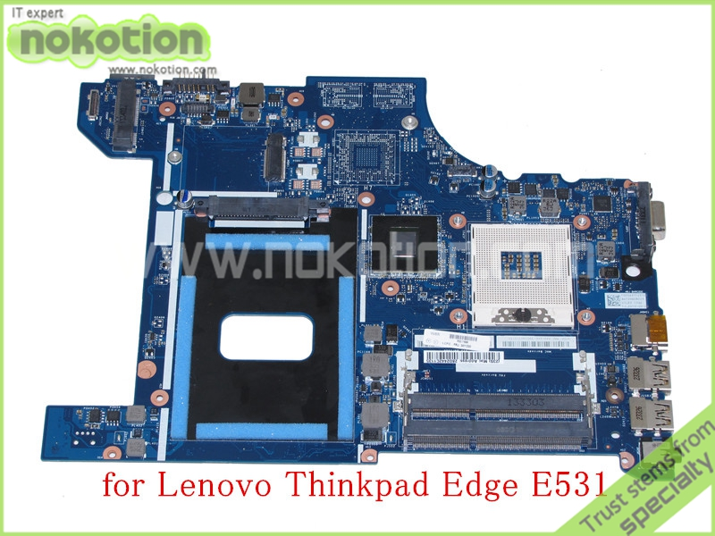 все цены на NOKOTION VILE2 NM-A044 REV 1.0 FRU 04Y1300 For lenovo thinkpad edge E531 laptop motherboard HD4000 graphics Mainboard онлайн