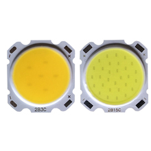 5pcs a lot 3W 5W 7W 10W 12W 15W High Power LED COB Light Beads lamp Bead Bulb Chip Spot Downlight Diode Lamps