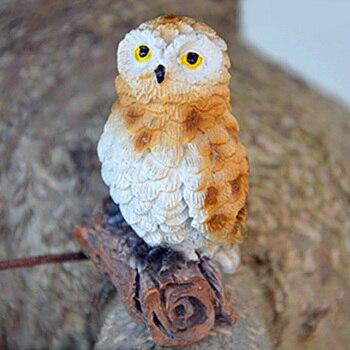 Owls Fairy Plant Pots Decoration
