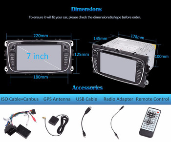 Android 9.0 Car Head Deck Unit Sat Nav DVD Player for Ssangyong Korando 2011-2013/Actyon with GPS Navigation Radio Stereo System image