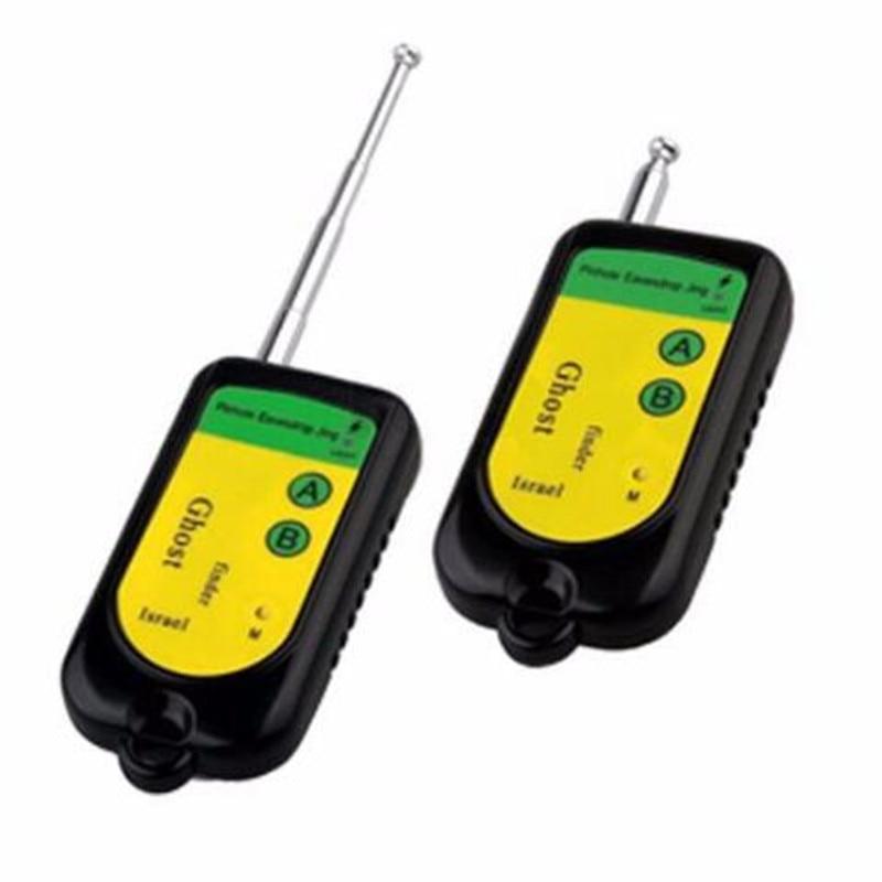Ghost Signal Bug RF Detector Finder Scanner Monitor Checker Pinhole Surveillance Camera GSM Wireless Device Black