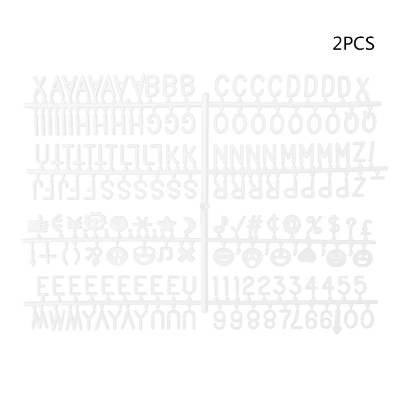 Characters For Felt Letter Board 340 Piece Numbers For