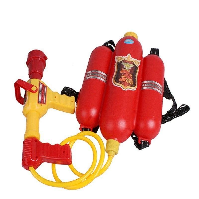 Backpack Firefighter Toy Water Gun Sprayer Child Kid Summer Toy Gun Party Benefits