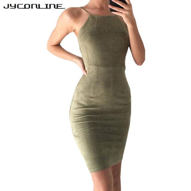 Jyconline elegante negro mujeres vestido verano Encaje hasta bodycon vestido  de cuero de ante hombro vestidos 291e1db627a0