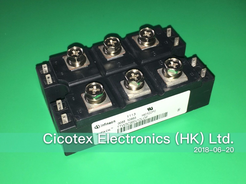 TTW3C85N12LOF IGBT Phase Control Thyristor Module TTW3C85N12L0F