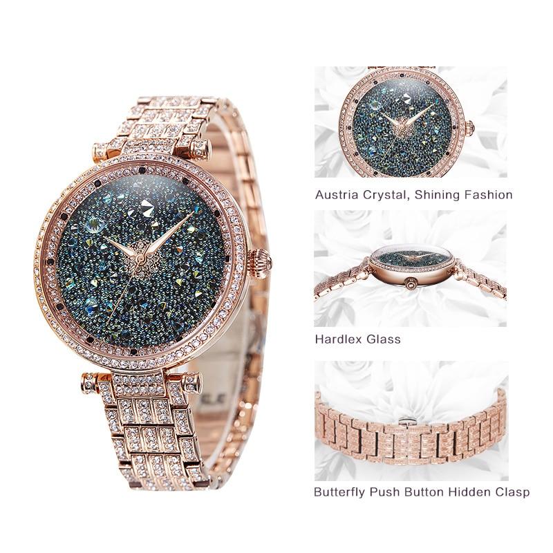 PB Πριγκίπισσα μόδας πεταλούδα μόδας - Γυναικεία ρολόγια - Φωτογραφία 3