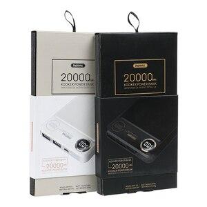Image 5 - Remax RPP 59 batteria Ai Polimeri di 20000 mAh banca di Potere Dual USB Powerbank Batteria Esterna Caricatore Del Telefono Mobile Portatile di Ricarica Veloce