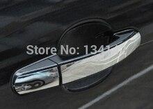 Darmowa wysyłka nowy auto dekoracji samochodu Ze KLAMKA POKRYWY TRIM MOLDING PUCHAR dla FORD FOCUS 3 MK3 akcesoria 2012 2013