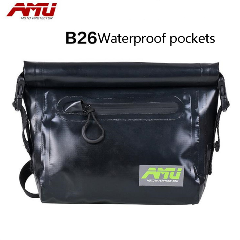 цена на Authentic AMU motorcycle purse bag side bag camel bag riding bag waterproof pockets