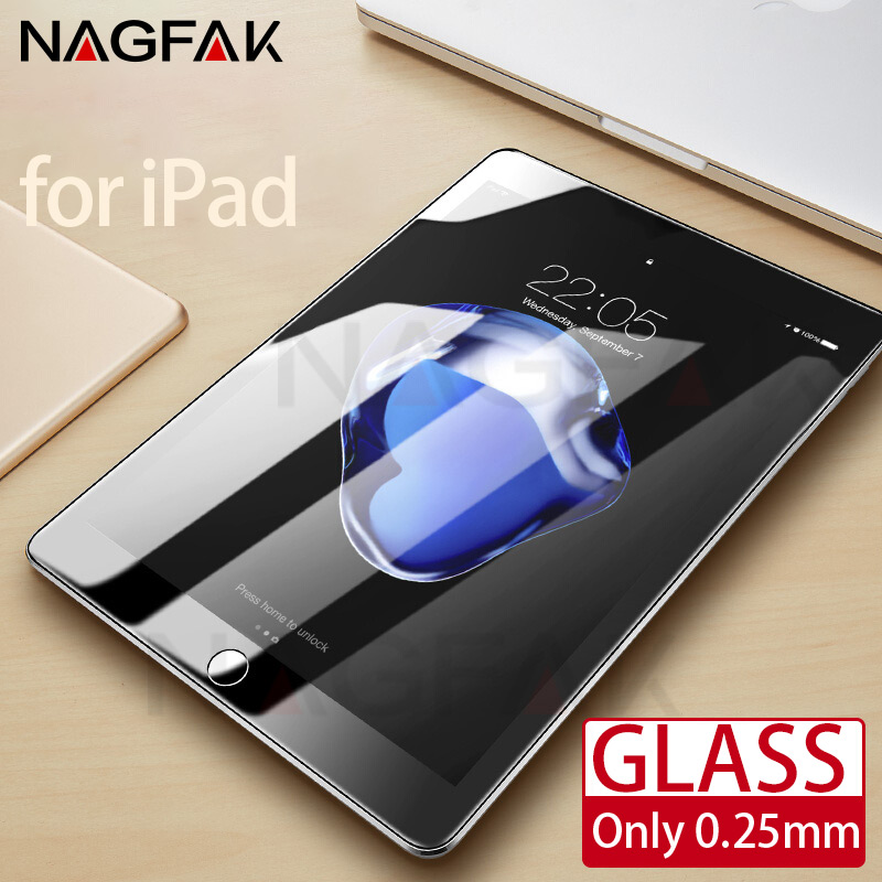 Tempered Glass For Apple iPad mini 1 2 3 4 Air 1 2 Tablet Screen Protector For i